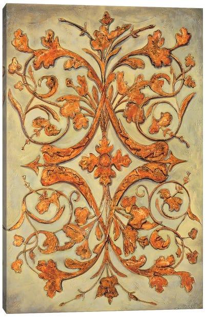 Ornamental Scroll II Canvas Art Print