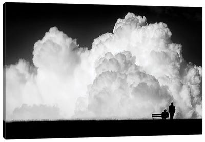 Waiting for the Storm Canvas Art Print