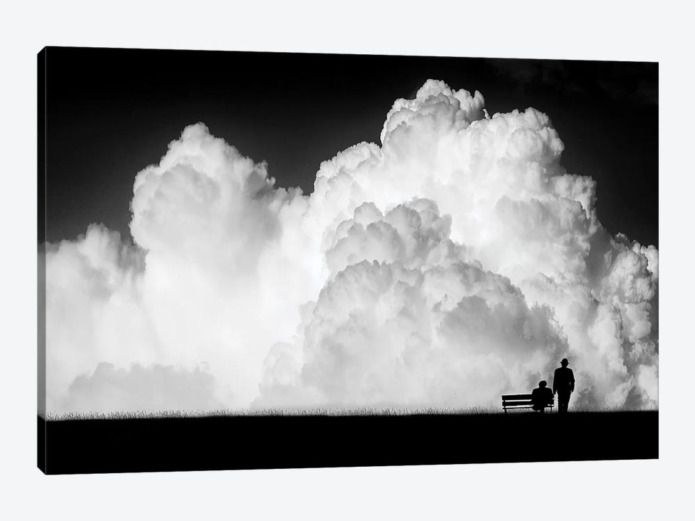 Waiting for the Storm by Stefan Eisele 1-piece Canvas Art