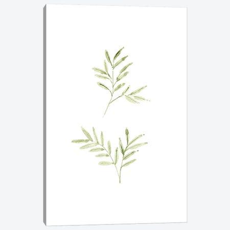 Leaf Study No. 1 3-Piece Canvas #SEL11} by Melissa Selmin Canvas Artwork
