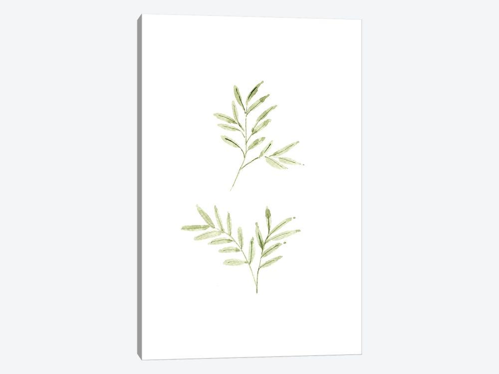 Leaf Study No. 1 by Melissa Selmin 1-piece Canvas Artwork