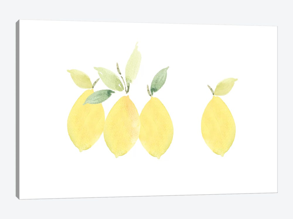 Lemons by Melissa Selmin 1-piece Art Print