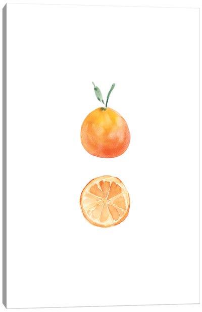Orange Slice Canvas Art Print