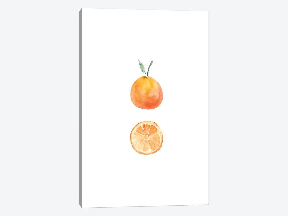Orange Slice by Melissa Selmin 1-piece Art Print
