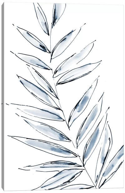 Palm Leaf No. 1 Canvas Art Print