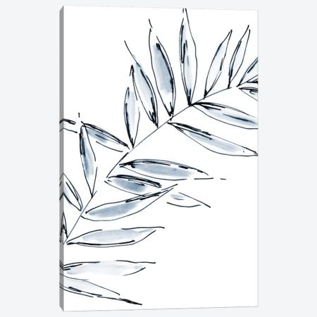 Palm Leaf No. 2 Canvas Print #SEL29} by Melissa Selmin Canvas Art Print