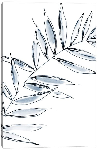 Palm Leaf No. 2 Canvas Art Print