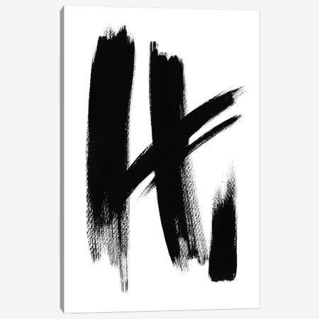 Brush Absract No. 1 Canvas Print #SEL2} by Melissa Selmin Art Print