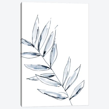 Palm Leaf No. 3 Canvas Print #SEL30} by Melissa Selmin Canvas Artwork