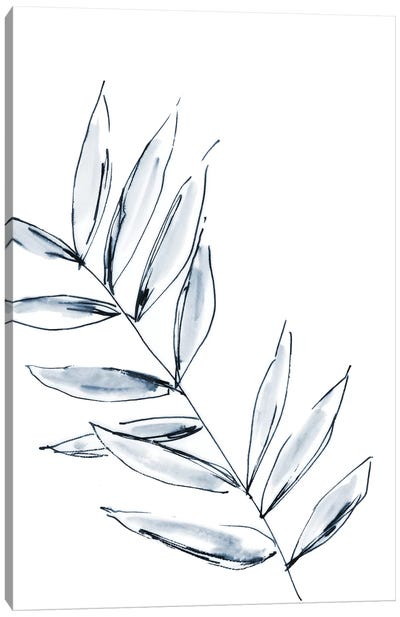 Palm Leaf No. 3 Canvas Art Print