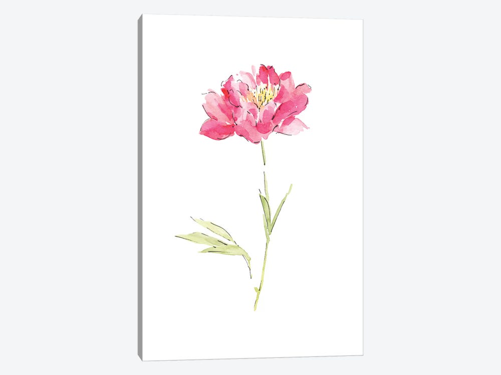 Pink Peony by Melissa Selmin 1-piece Art Print
