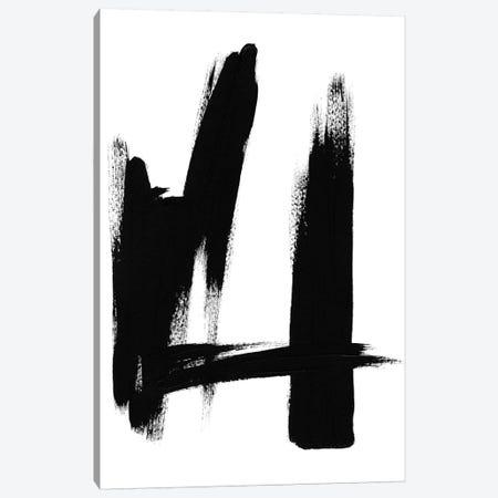 Brush Absract No. 2 Canvas Print #SEL3} by Melissa Selmin Canvas Art Print