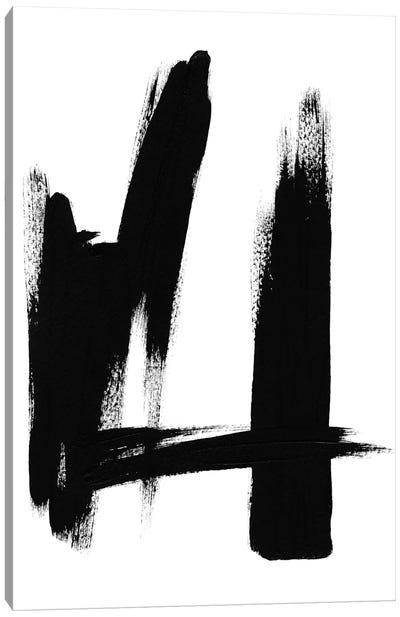 Brush Absract No. 2 Canvas Art Print