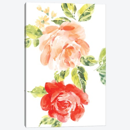 Rosa No. 2 Canvas Print #SEL45} by Melissa Selmin Canvas Art