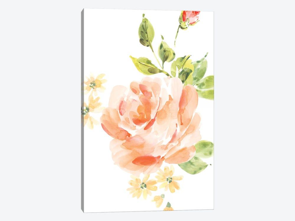 Rosa No. 5 by Melissa Selmin 1-piece Canvas Art