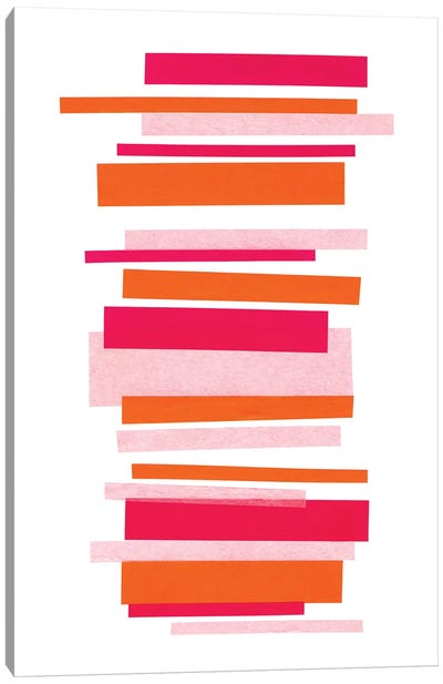 Candy Stripes No. 1 Canvas Art Print