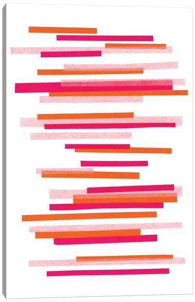 Candy Stripes No. 2 Canvas Art Print