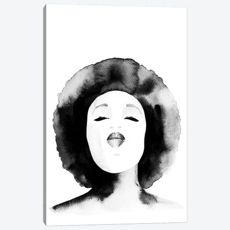 Erykah Canvas Print #SEL61} by Melissa Selmin Canvas Art Print