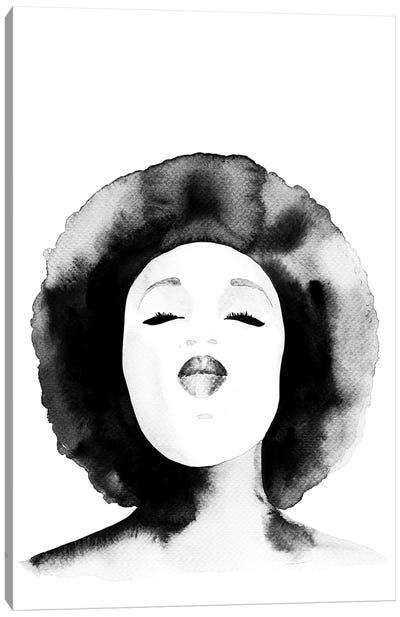 Erykah Canvas Art Print
