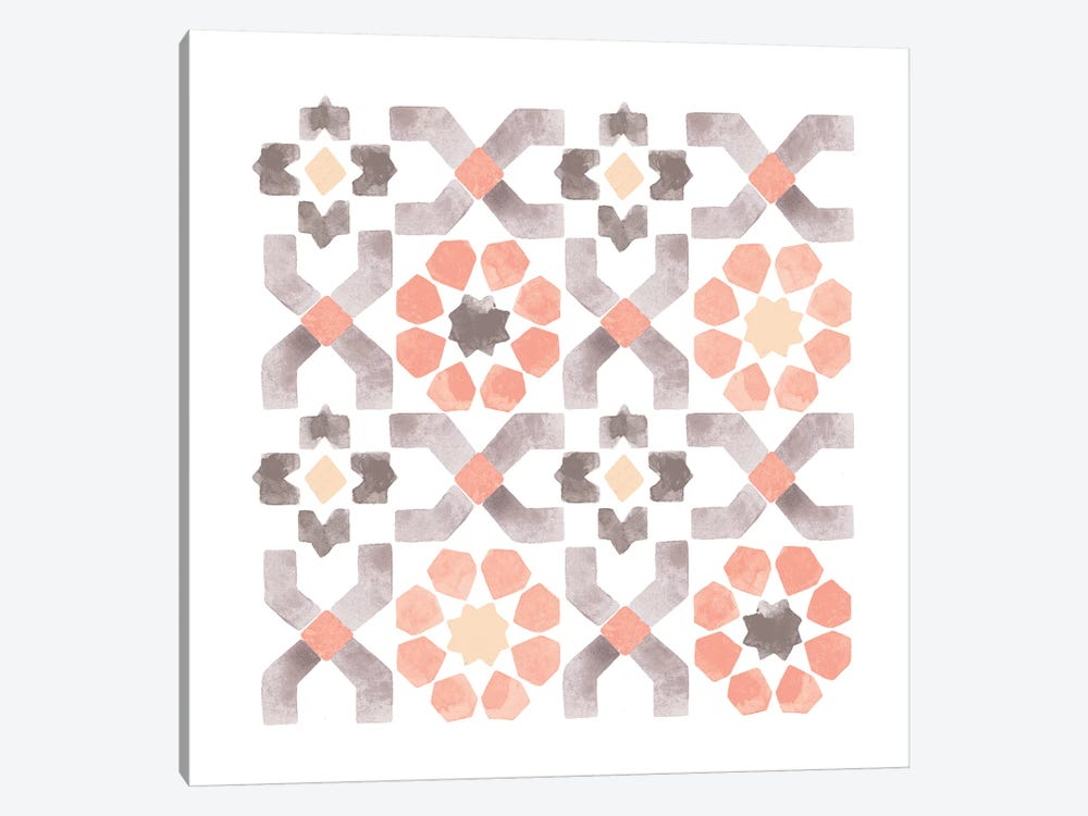 Moroccan Tile 1-piece Art Print