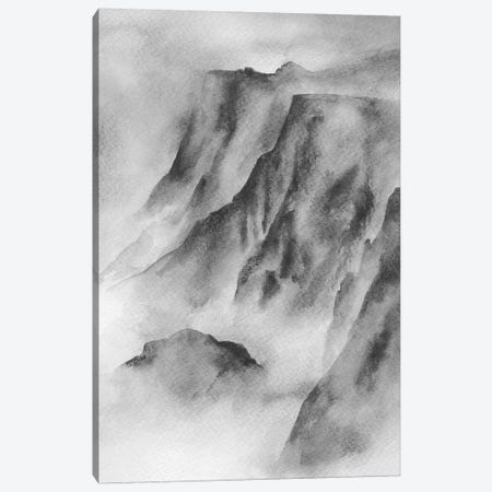 Mountain Mist Canvas Print #SEL66} by Melissa Selmin Canvas Art