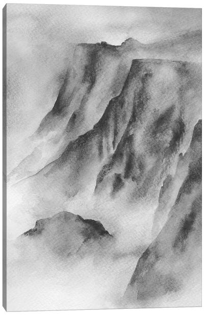 Mountain Mist Canvas Art Print
