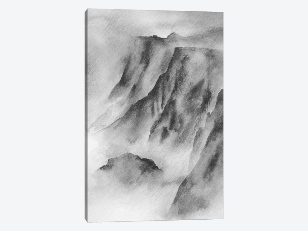 Mountain Mist by Melissa Selmin 1-piece Canvas Artwork