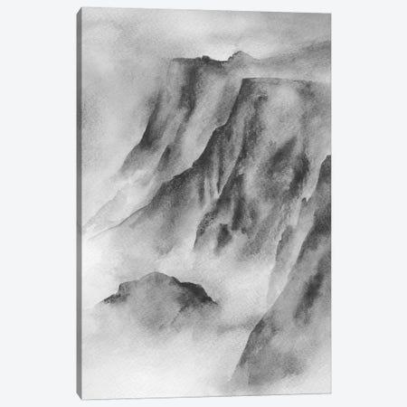 Mountain Mist Canvas Print #SEL66} by Melissa Selmin Canvas Art