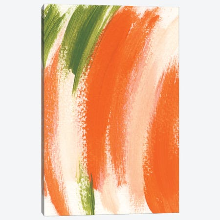Papaya No. 2 Canvas Print #SEL70} by Melissa Selmin Canvas Art