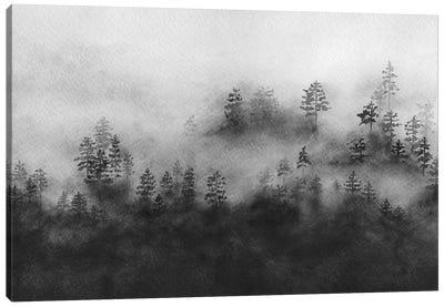 Rising Mist Canvas Art Print