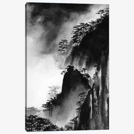 Sacred Mountain Canvas Print #SEL74} by Melissa Selmin Art Print