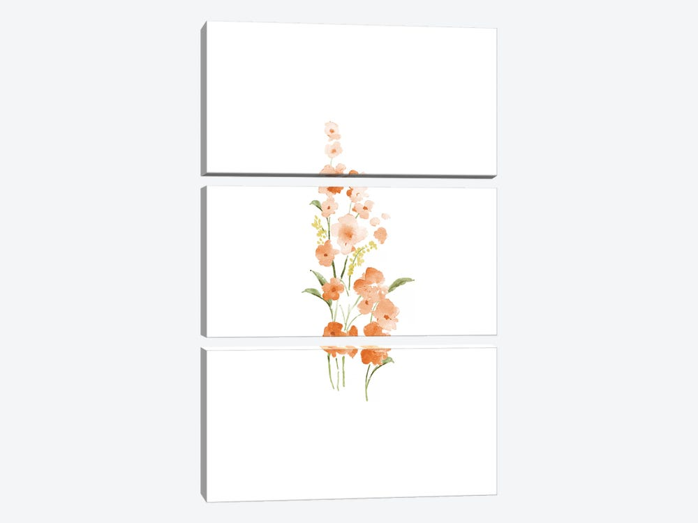 Spring Blooms No. 1 by Melissa Selmin 3-piece Canvas Art