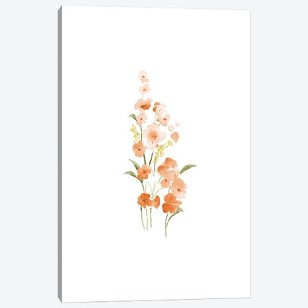 Spring Blooms No. 1 Canvas Print #SEL75} by Melissa Selmin Canvas Print