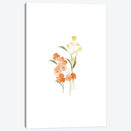 Spring Blooms No. 2 Canvas Print #SEL76} by Melissa Selmin Canvas Print