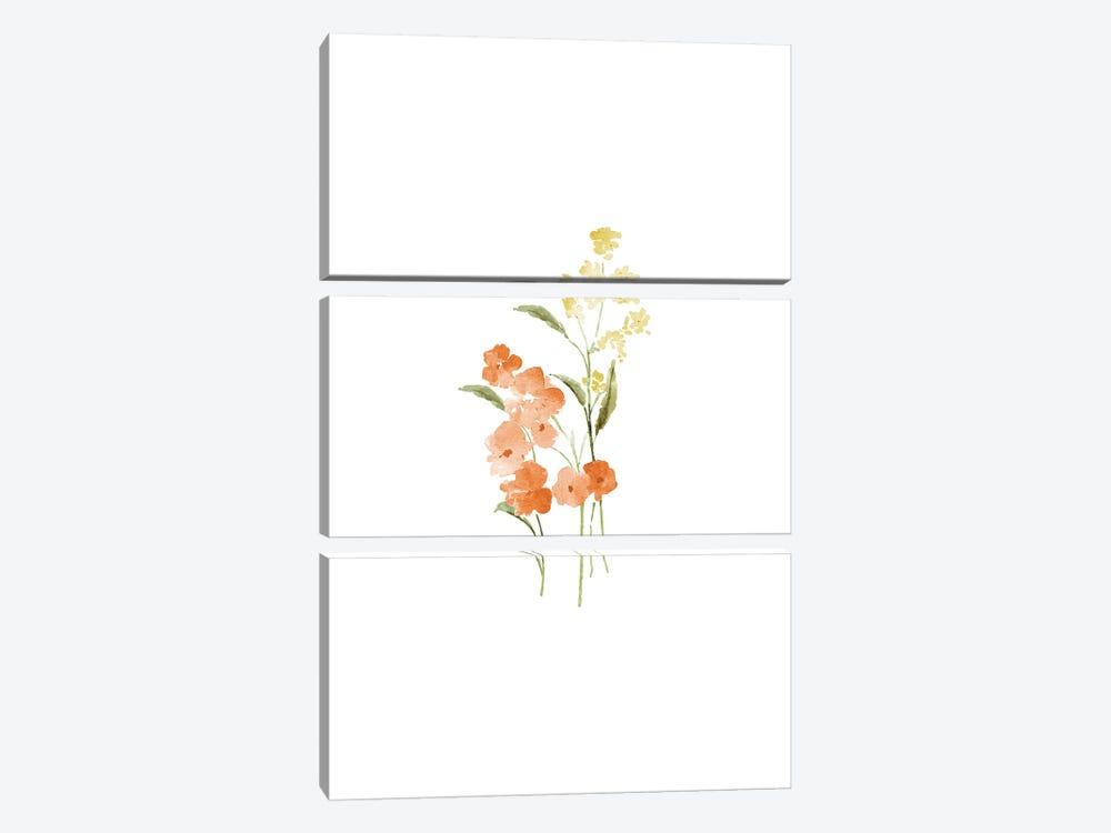Spring Blooms No. 2 by Melissa Selmin 3-piece Canvas Art Print