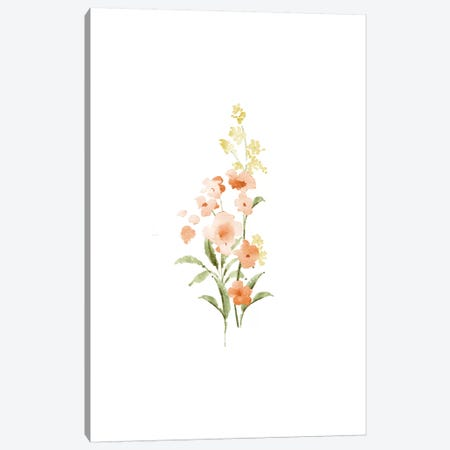 Spring Blooms No. 3 Canvas Print #SEL77} by Melissa Selmin Canvas Art Print