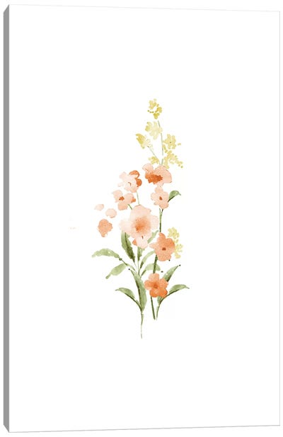 Spring Blooms No. 3 Canvas Art Print