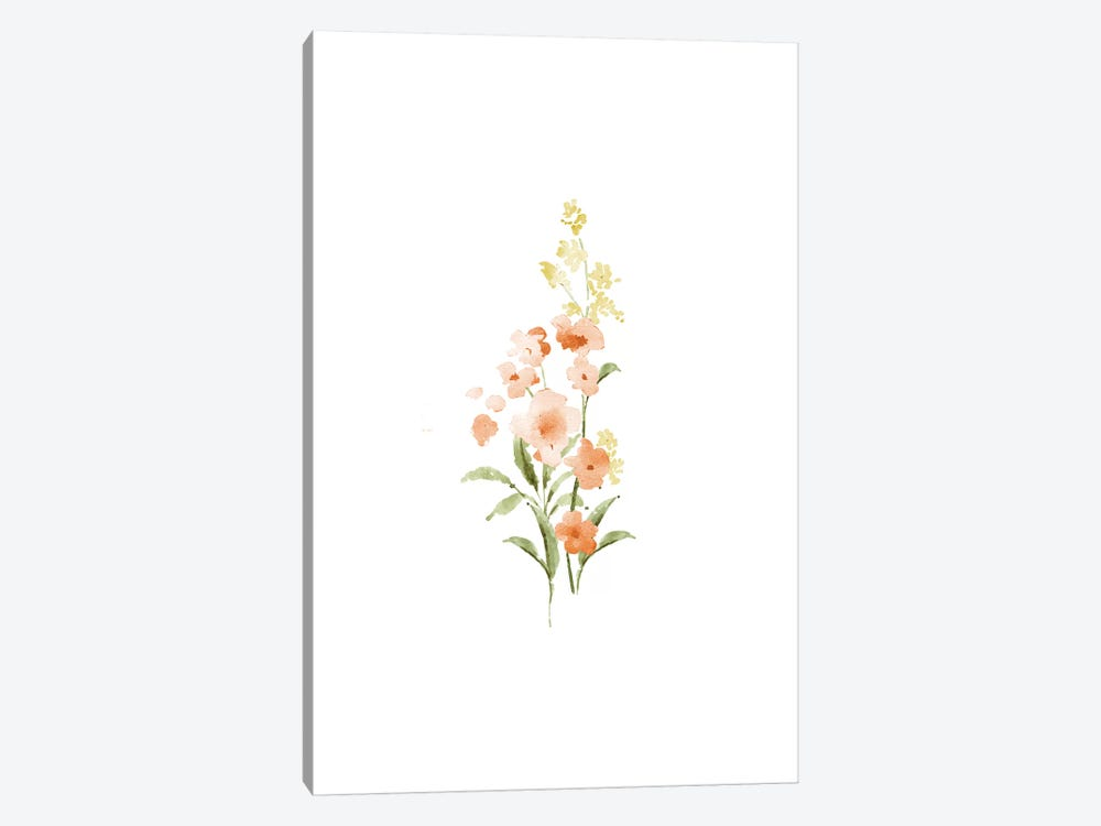 Spring Blooms No. 3 by Melissa Selmin 1-piece Canvas Wall Art