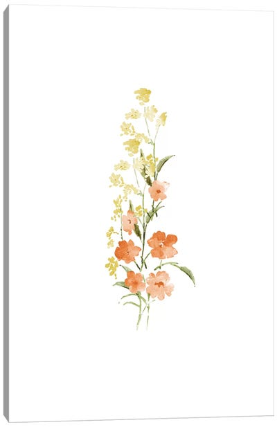 Spring Blooms No. 4 Canvas Art Print