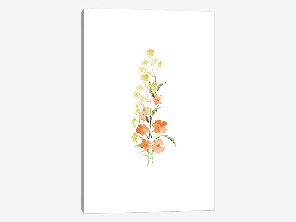 Spring Blooms No. 4 by Melissa Selmin 1-piece Canvas Print