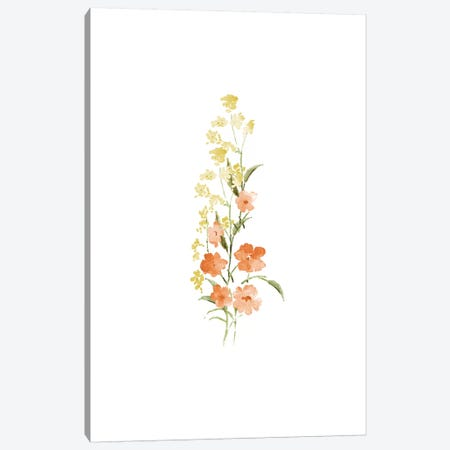 Spring Blooms No. 4 Canvas Print #SEL78} by Melissa Selmin Canvas Art