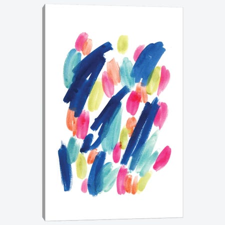 Tropical Crush Canvas Print #SEL80} by Melissa Selmin Canvas Art Print