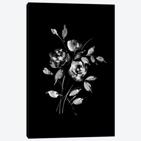 White Bouquet Canvas Print #SEL84} by Melissa Selmin Canvas Wall Art