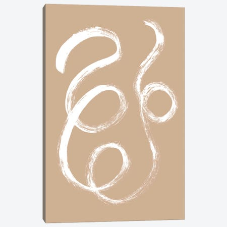 Unravel No. 2 Canvas Print #SEL90} by Melissa Selmin Canvas Artwork