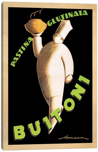 Buitoni, 1928 Canvas Art Print