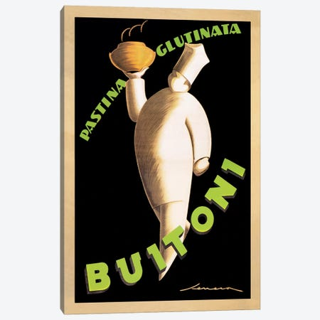 Buitoni, 1928 3-Piece Canvas #SEN1} by Federico Seneca Art Print