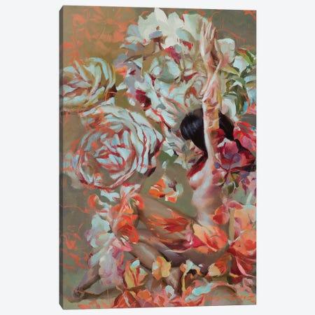 Handel Canvas Print #SER14} by Sergio Lopez Art Print