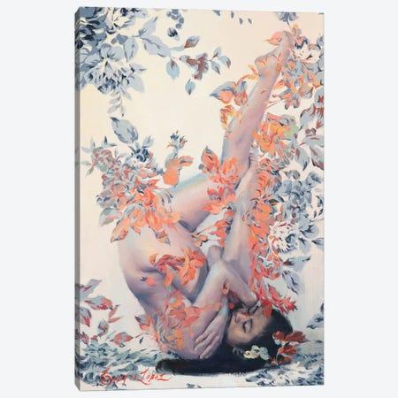 Painted Roses - Regatta Canvas Print #SER29} by Sergio Lopez Canvas Print