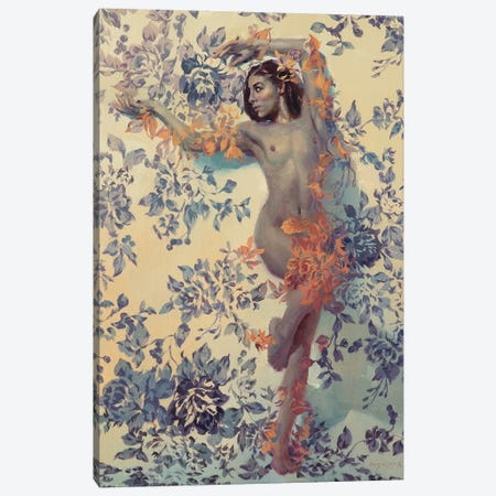 Belle De Crecy Canvas Print #SER2} by Sergio Lopez Canvas Artwork