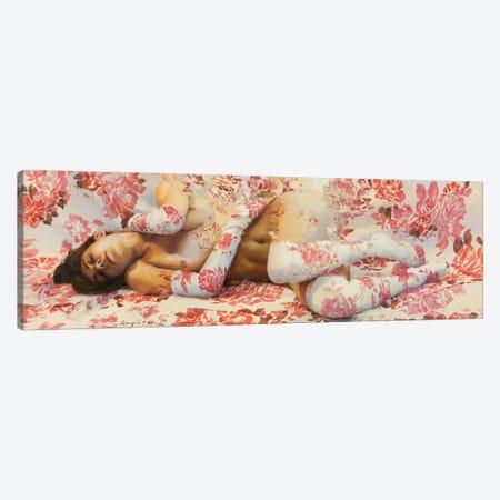 Summer's New Dream 3-Piece Canvas #SER37} by Sergio Lopez Canvas Print